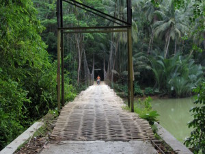 bamboo bridge batu karas