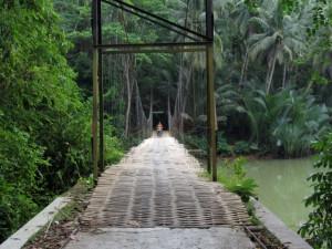 bamboo bridge batu karas