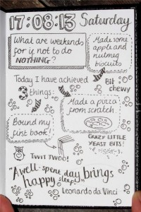 sketchnot diary