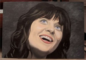 how to paint a portrait in acrylics