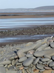 estuary at Westward Ho!