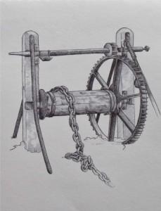 biro drawing