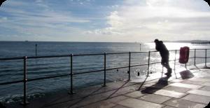 Teignmouth seafront, Devon