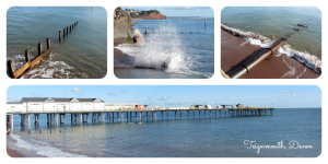 Teignmouth pier in south Devon