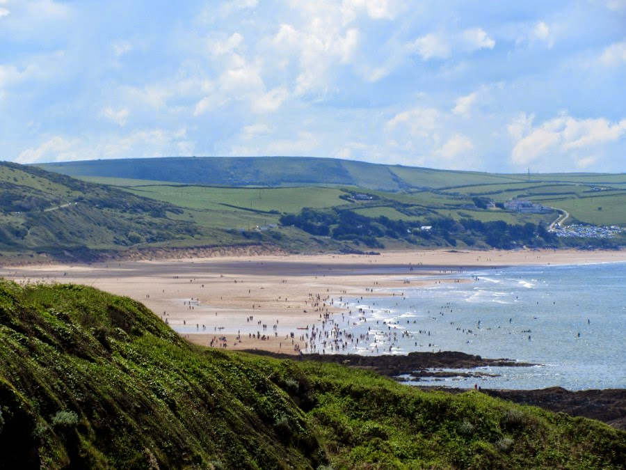 Woolacombe from Mortehoe