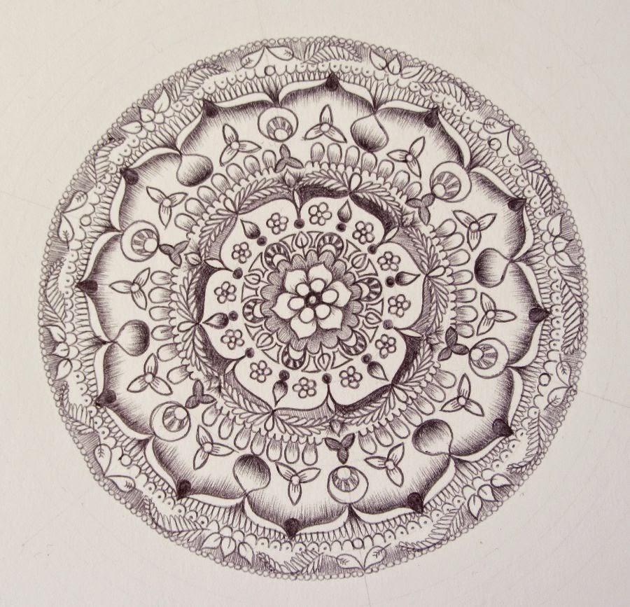 mandala doodle