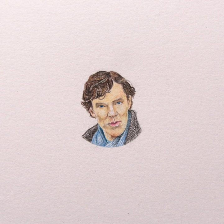 Benedict Cumberbatch drawing