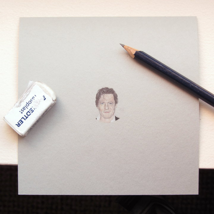 Hugh Grant Drawing