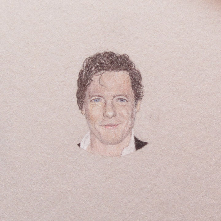 miniature portrait of Hugh Grant