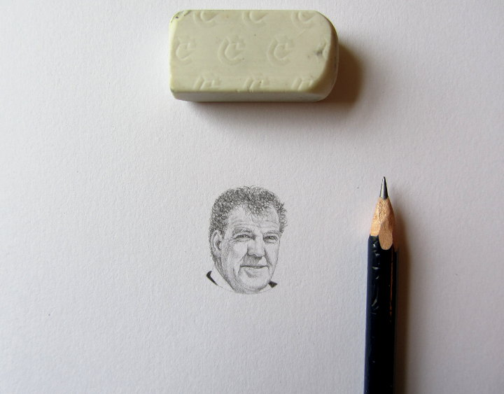 Jeremy Clarkson portrait