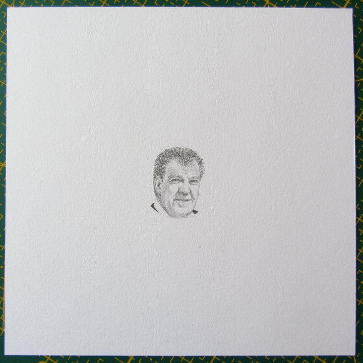 miniature portrait of Jeremy Clarkson