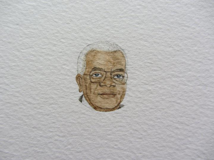 Trevor McDonald portrait