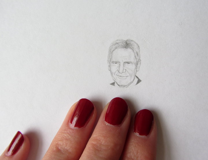 Harrison Ford drawing