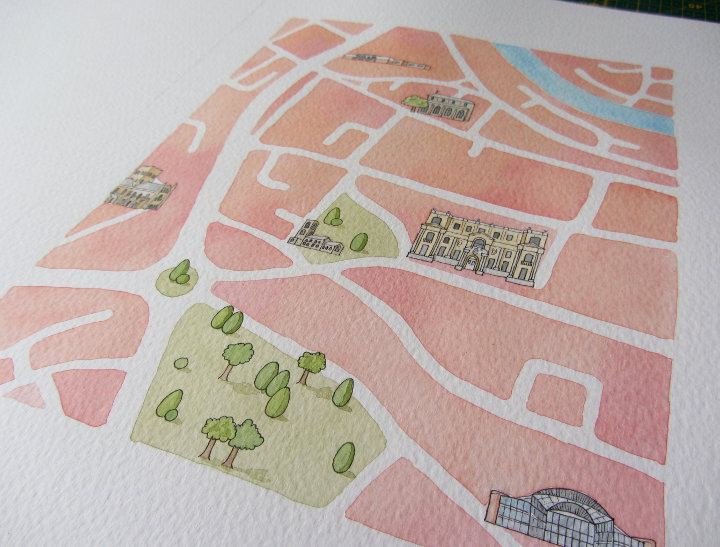 Ilustrated Map of Norwich