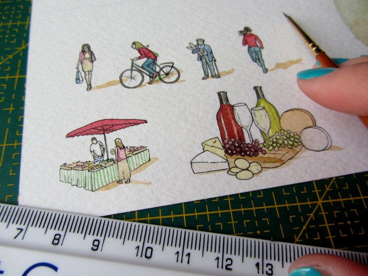 french illustrations