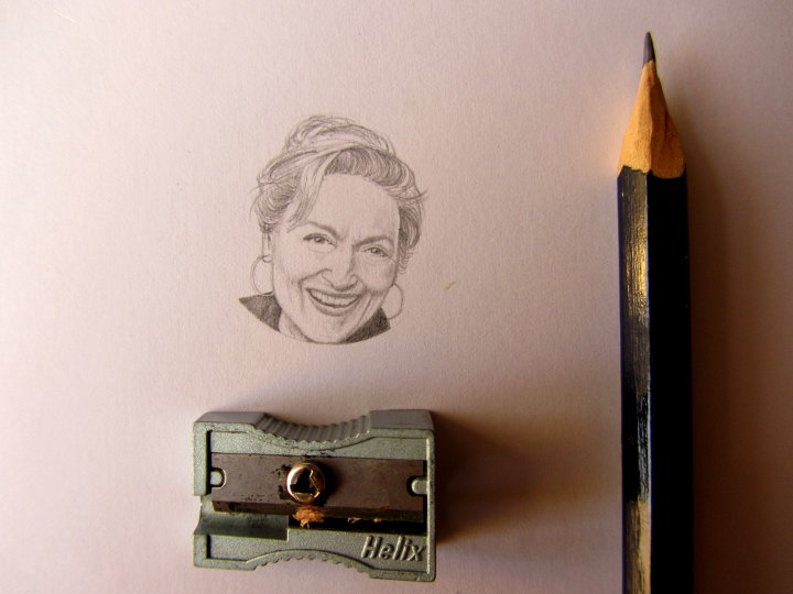 meryl streep portrait