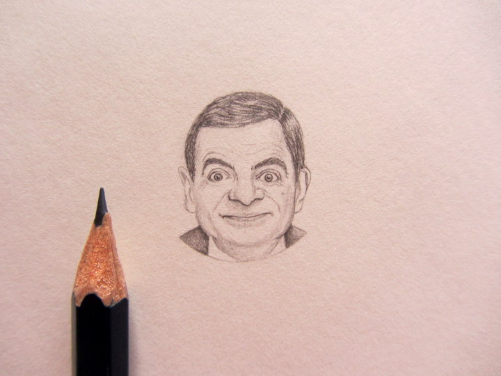 Portrait of Rowan Atkinson
