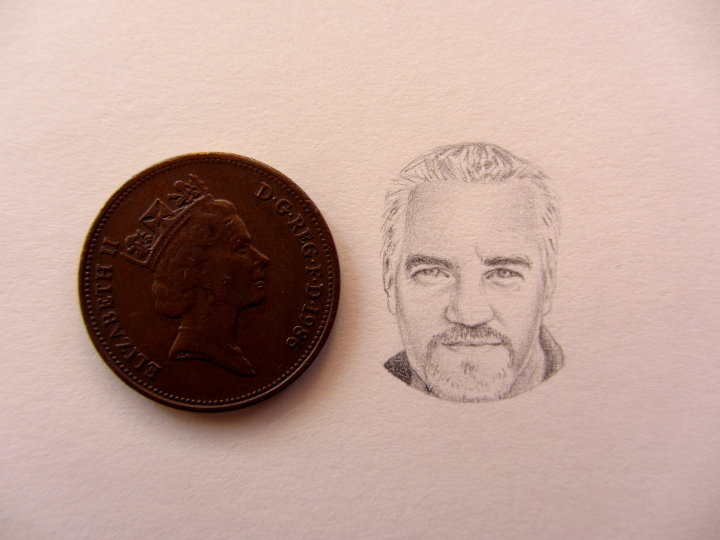 paul hollywood miniature portrait