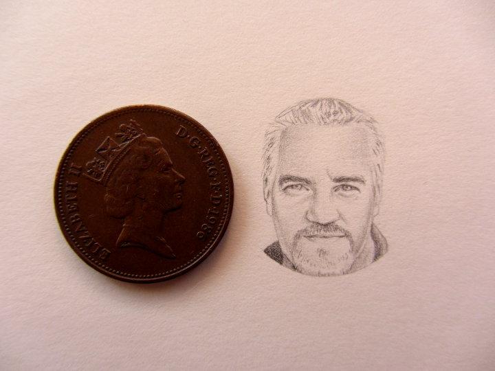 paul hollywood miniature portrait