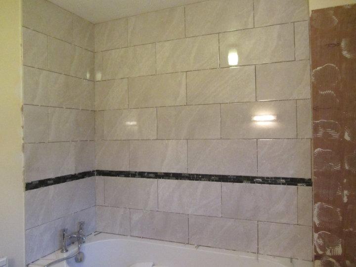 bathroom after tiling