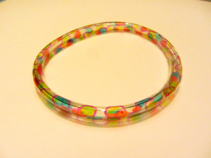 plastic bottle bangle bracelet