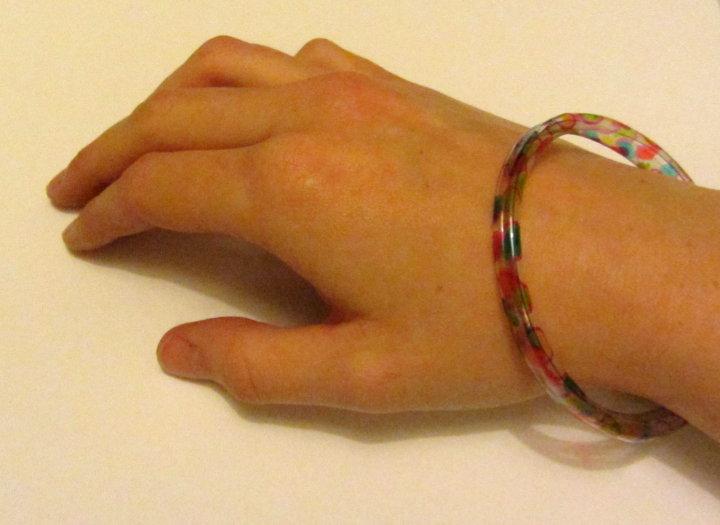 plastic bottle bangle bracelet
