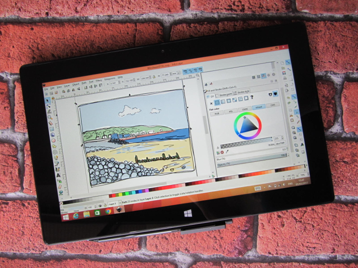 Free drawing apps for Surface Pro 2