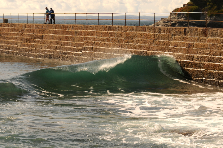 Waves at Porthleven